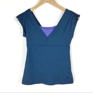 Patagonia Tops - PATAGONIA short sleeve athletic top size SMALL